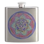 Blue Mandala Flask