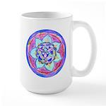 Blue Mandala Mugs