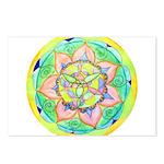 Golden Mandala Postcards (Package of 8)