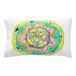 Golden Mandala Pillow Case