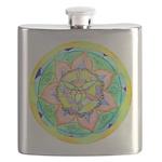 Golden Mandala Flask