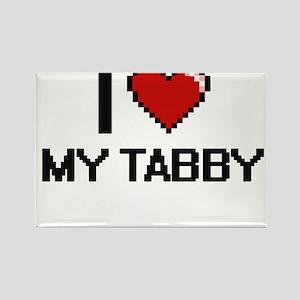 I love My Tabby Magnets
