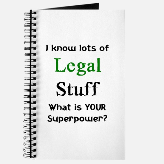 legal stuff Journal