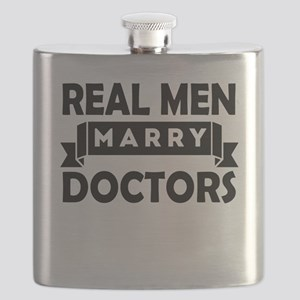 Real Men Marry Doctors Flask