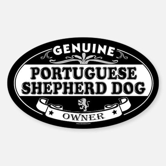 PORTUGUESE SHEPHERD DOG Oval Decal