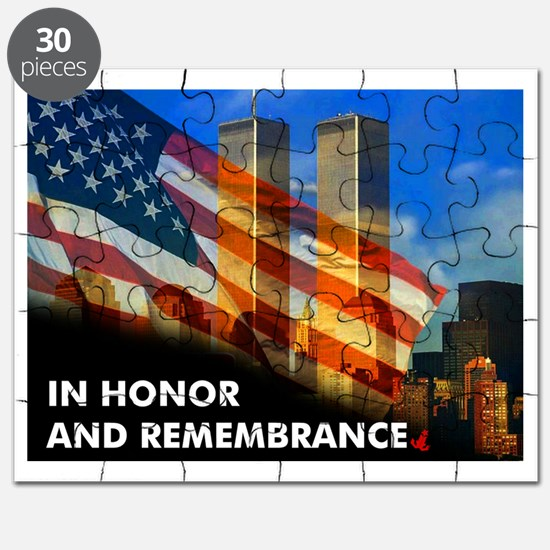 9-11 NEVER FORGET  Puzzle