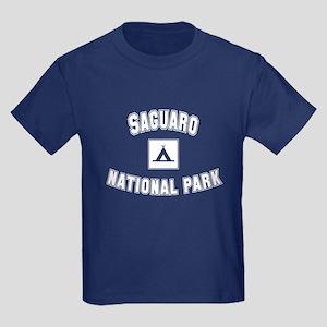 Saguaro National Park Kids Dark T-Shirt