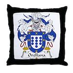 Orellana Family Crest Throw Pillow