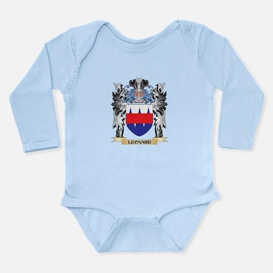 Leonard Coat of Arms - Family Crest Body Suit