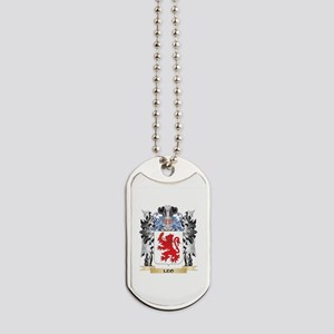 Leo Coat of Arms - Family Crest Dog Tags