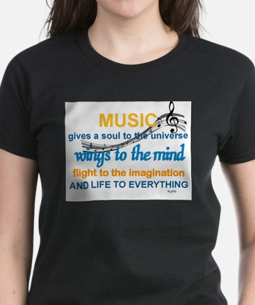 MUSIC GIVES LIFE TO EVERYTHING T-Shirt