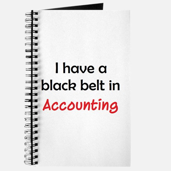 accounting black belt Journal