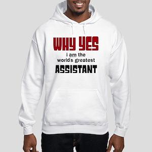 World's Greatest Assistant Hooded Sweatshirt