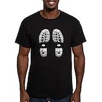 hiking Men's Fitted T-Shirt (dark)