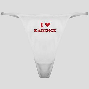 I LOVE KADENCE Classic Thong