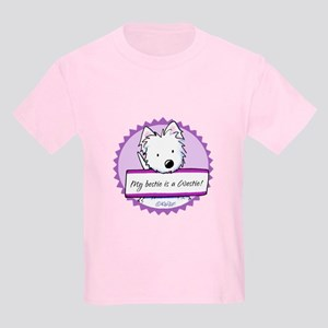 KiniArt Westie Bestie Kids Light T-Shirt