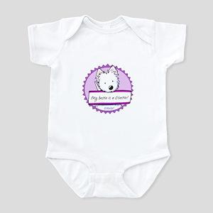 KiniArt Westie Bestie Infant Bodysuit