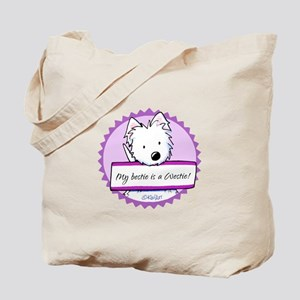 KiniArt Westie Bestie Tote Bag