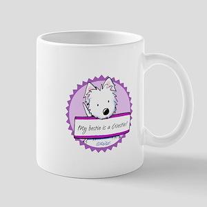 KiniArt Westie Bestie Mug