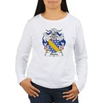 Odena Family Crest Women's Long Sleeve T-Shirt