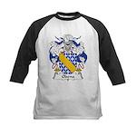 Odena Family Crest Kids Baseball Jersey