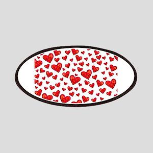 Hearts Motif Patch