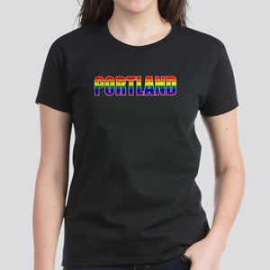 Portland Pride Women's Dark T-Shirt