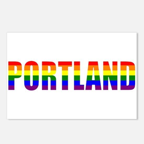 Portland Pride Postcards (Package of 8)