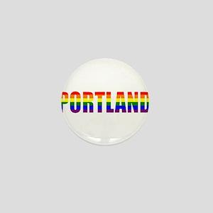 Portland Pride Mini Button