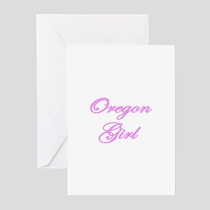 Oregon Girl Greeting Cards (Pk of 10)