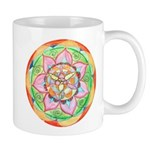 Orange Mandala Mugs