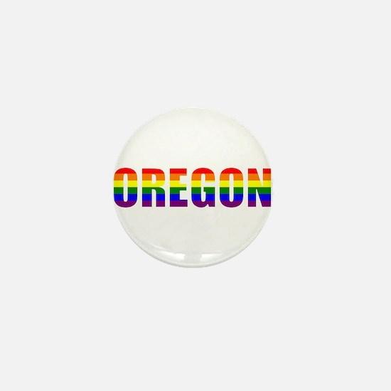 Oregon Pride Mini Button