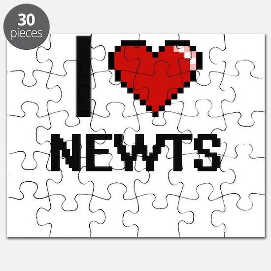 I Love Newts Puzzle