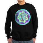 Cyan Mandala Sweatshirt