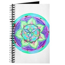 Cyan Mandala Journal