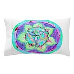 Cyan Mandala Pillow Case