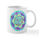 Cyan Mandala Mugs