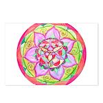 Rose Mandala Postcards (Package of 8)