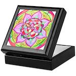 Rose Mandala Keepsake Box