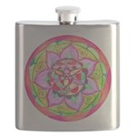 Rose Mandala Flask