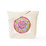 Rose Mandala Tote Bag
