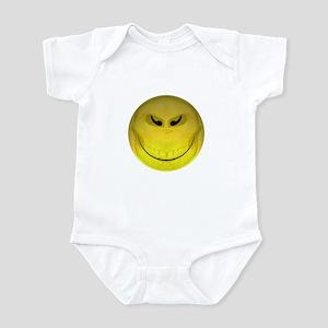 Mask Smiley Skull Infant Bodysuit
