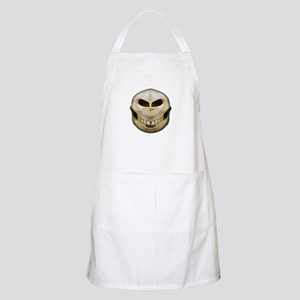 Full Smiley Skull BBQ Apron