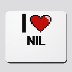 I Love Nil Mousepad