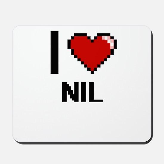 I Love Nil Mousepad