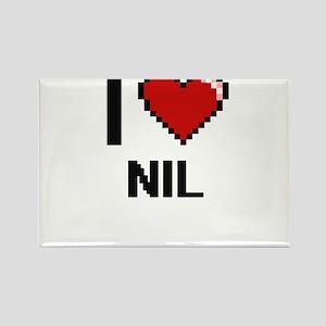 I Love Nil Magnets