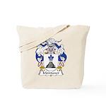 Montaner Family Crest Tote Bag