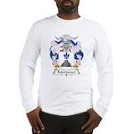 Montaner Family Crest Long Sleeve T-Shirt