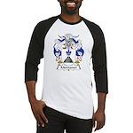 Montaner Family Crest Baseball Jersey
