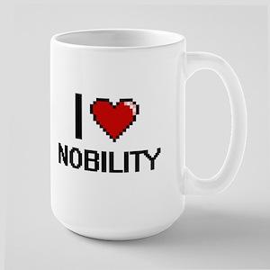 I Love Nobility Mugs